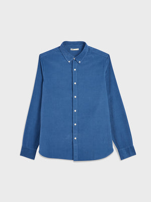 black friday deals ONS Clothing Men's FULTON CORD SHIRT in COBALT BLUE