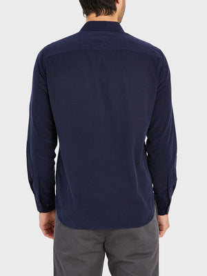 black friday deals ONS Clothing Men's FULTON CORD SHIRT in NAVY