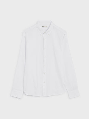 black friday deals ONS FULTON PEACHED OXFORD Mens shirt in  WHITE