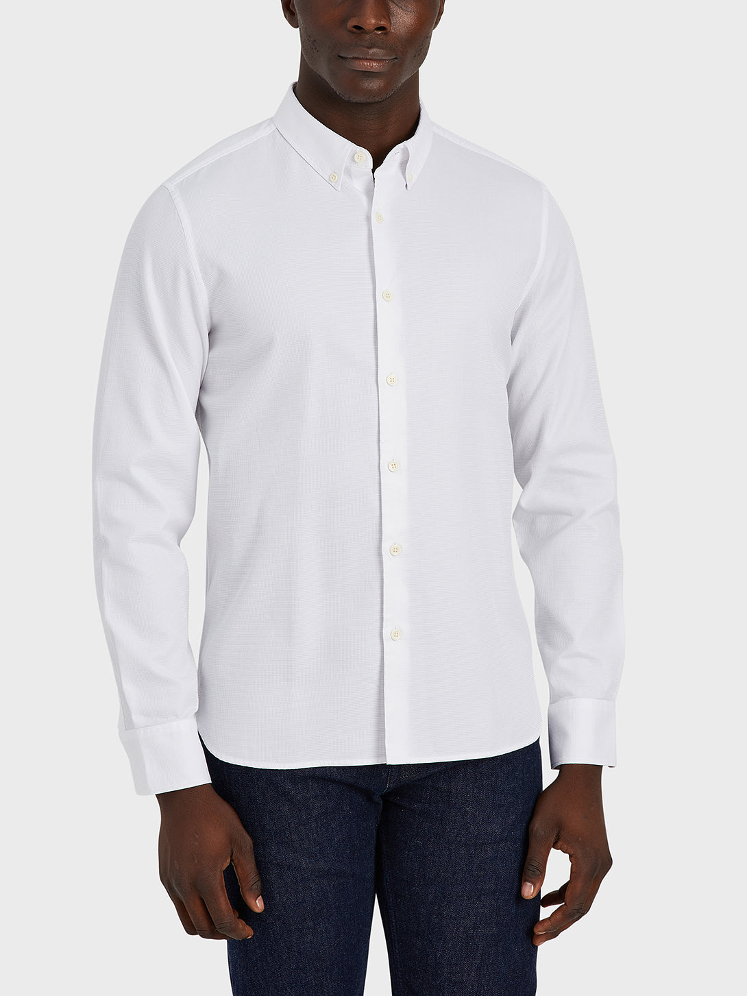 ONS Clothing Men's shirt in WHITE