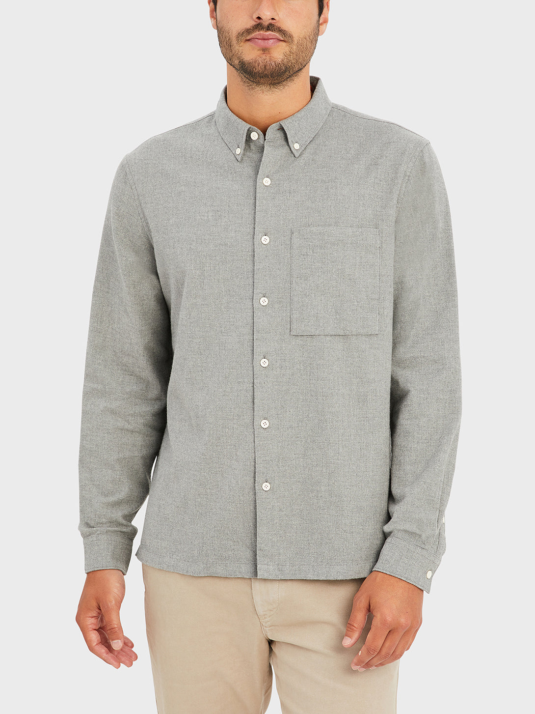 ONS VANCE SHIRT HEATHER GREY black friday deals