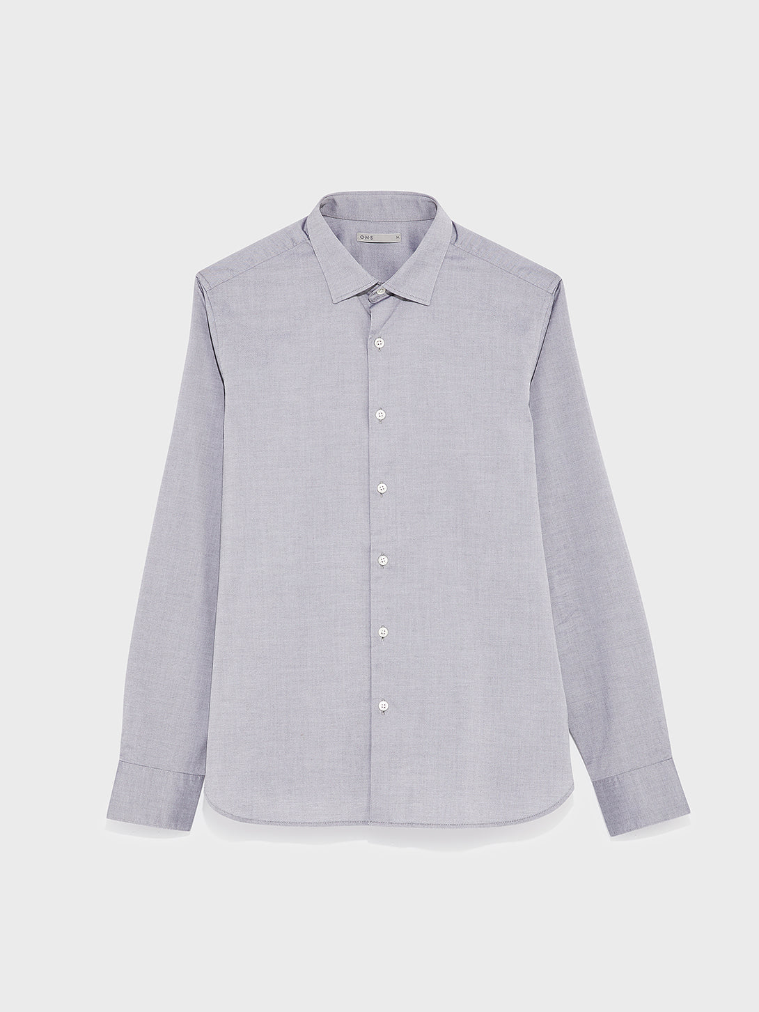 black friday deals ONS men's clothing ADRIAN PINPOINT OXFORD SHIRT GREY