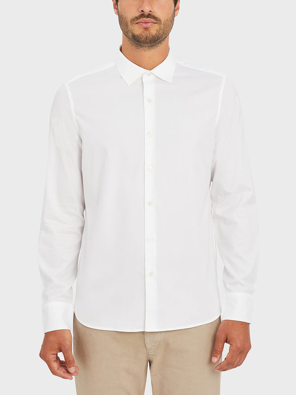 ONS ADRIAN PINPOINT OXFORD SHIRT WHITE