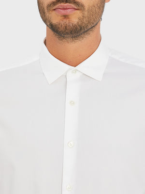 black friday deals ONS men's clothing ADRIAN PINPOINT OXFORD SHIRT WHITE
