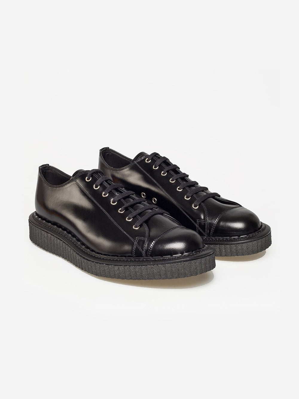GEORGE COX BLACK MONKEY SHOE available at ONS Clothing