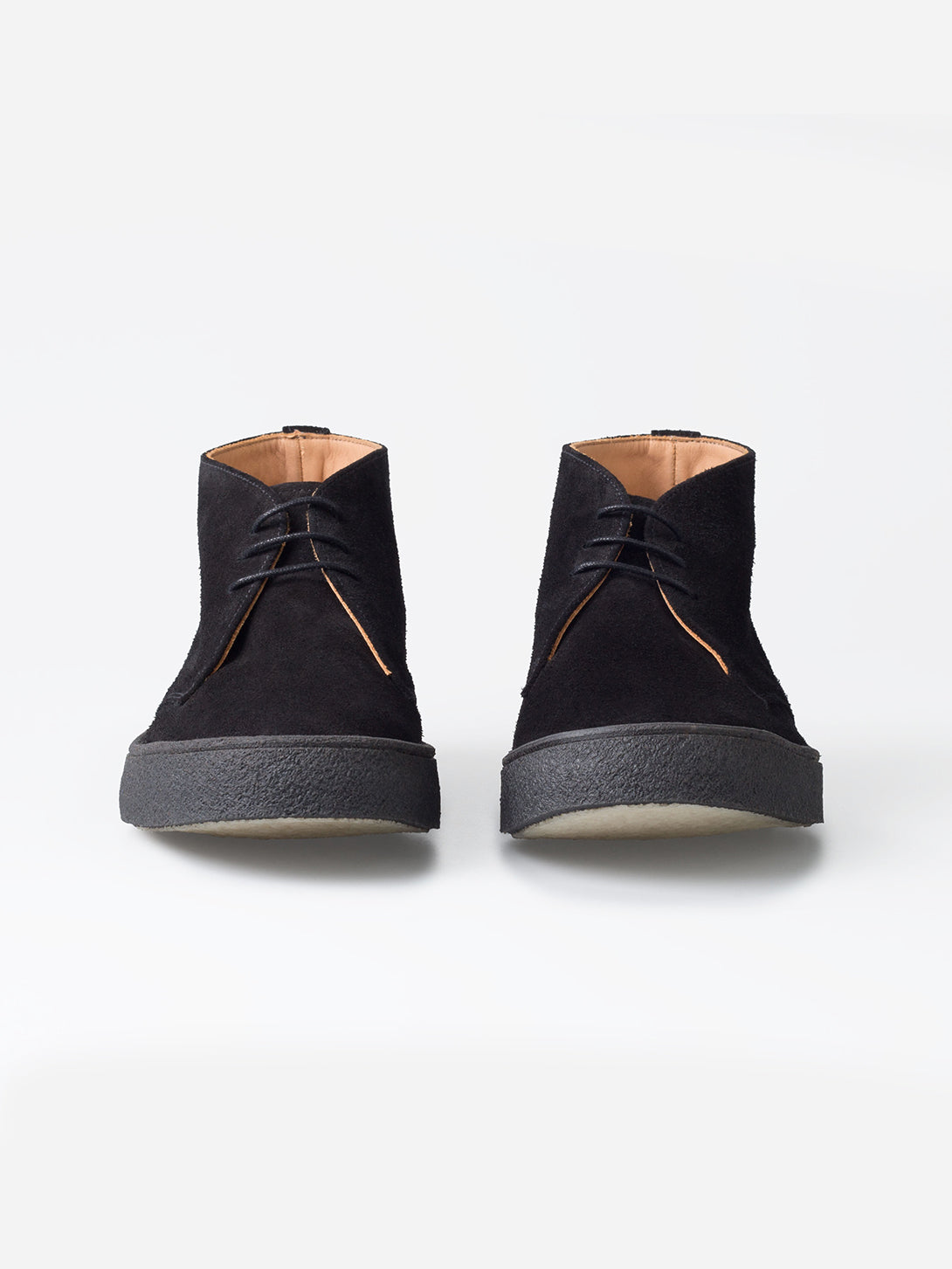BLACK Popboy Chukka suede shoes - George Cox