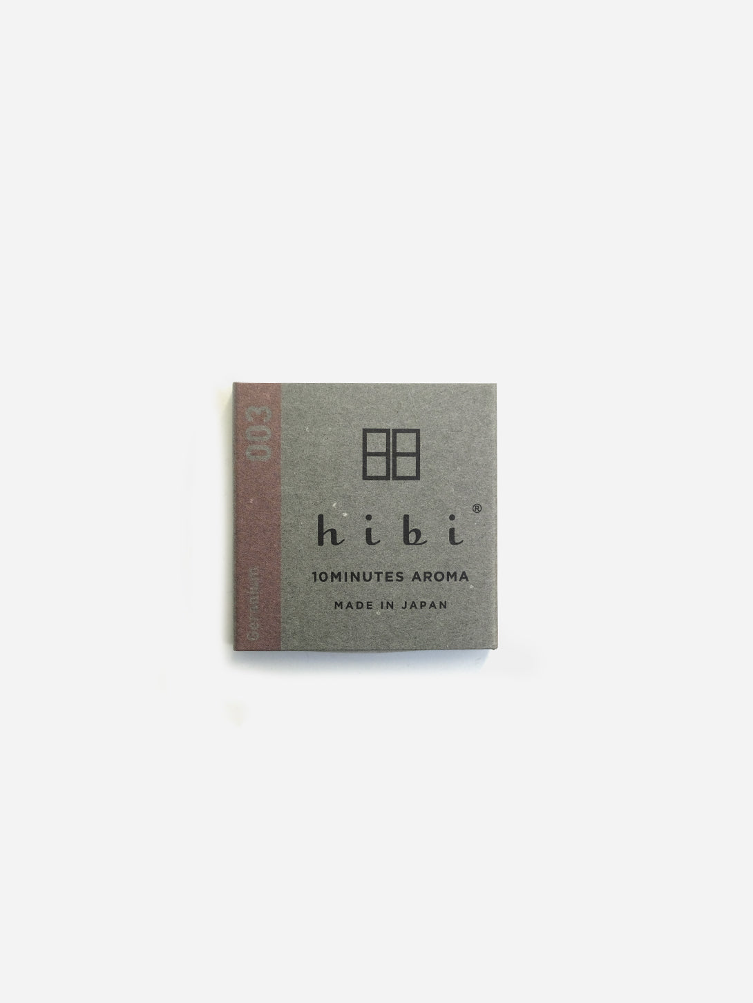 Geranium Japanese incense match sticks hibi