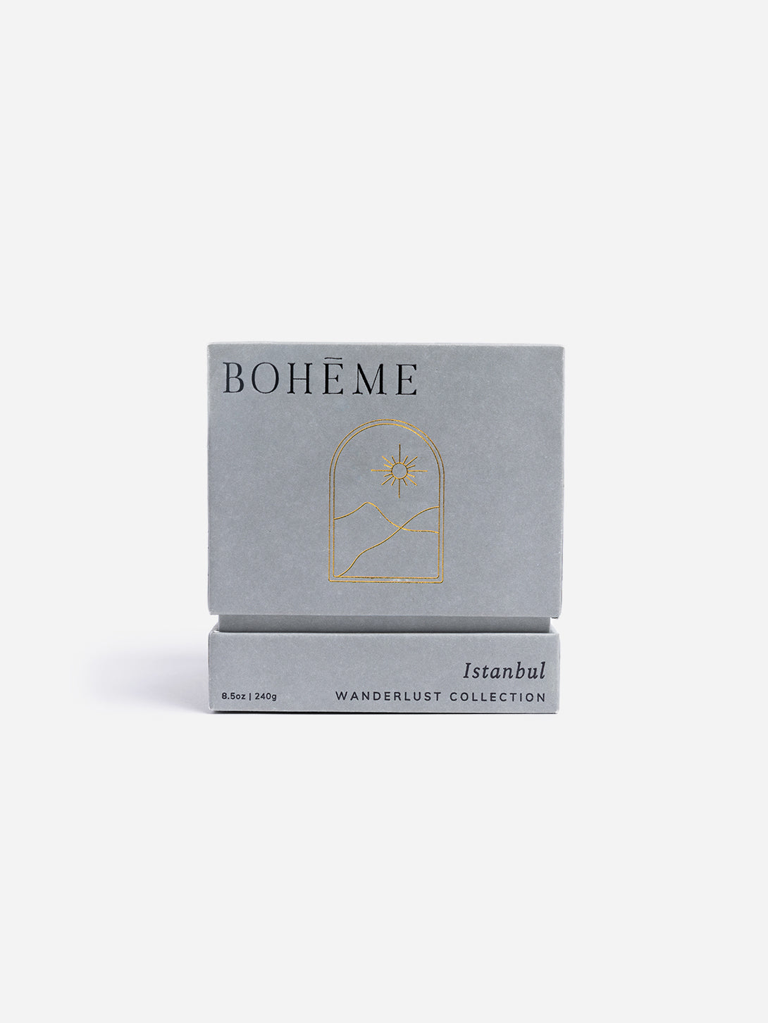 Istanbul candle for men and women unisex boheme