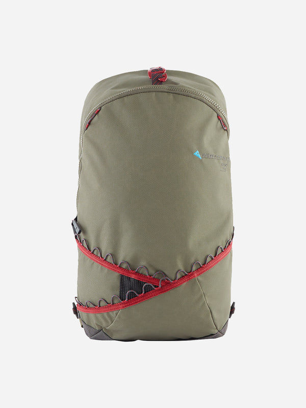 DUSTY GREEN-BURNT RUSSET BURE BACKPACK 15L - KLATTERMUSEN