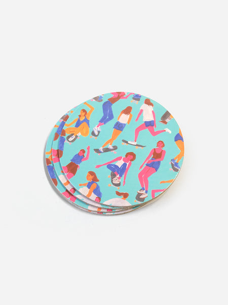 MULTI-COLOR VENICE COASTER ONS X LEAH GOREN