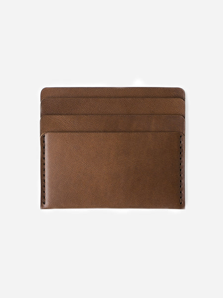 BARK mens card holder brown leather wallet cascade wallet makr