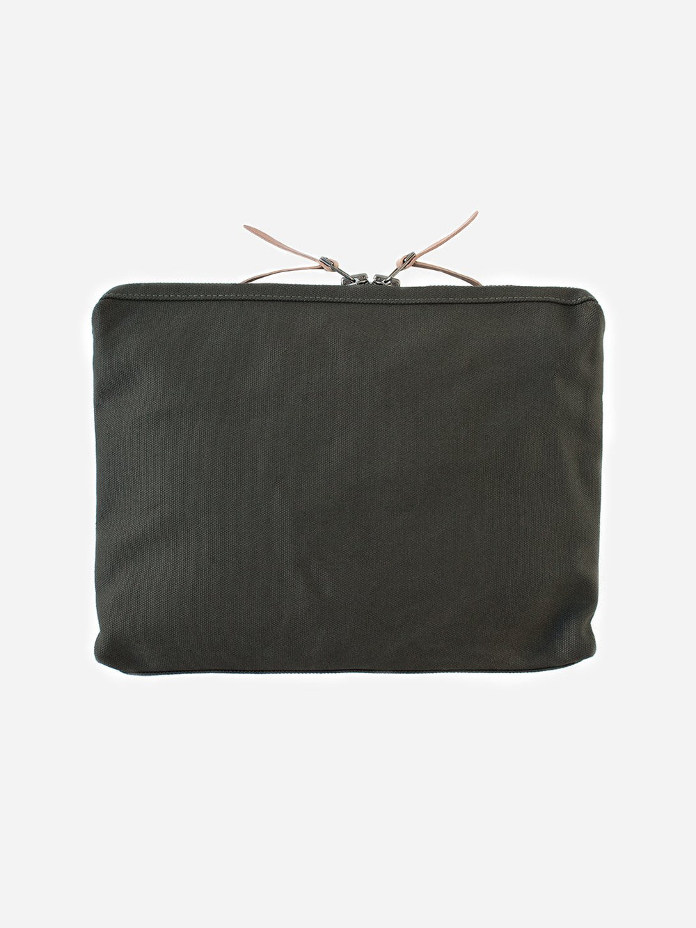 ARMY GREEN men and women unisex canvas organizational pouch organizer pouch large makr