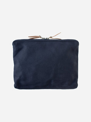 NAVY men and women unisex canvas organizational pouch organizer pouch large makr