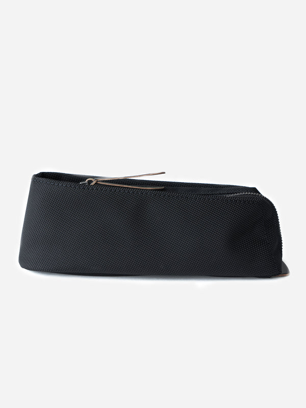 BLACK canvas pencil and pen case Makr