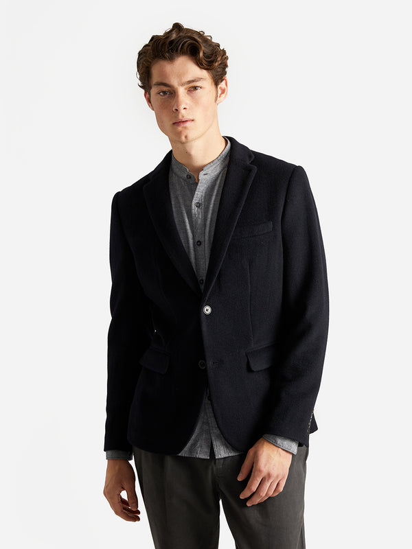 ons garage men's blazers NAVY