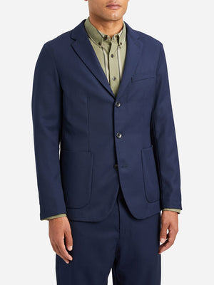 NAVY blazer for men miles blazer ons clothing