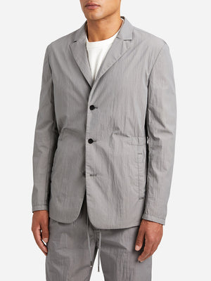 LIGHT GREY causal blazer for men travel blazer lt grey ons clothing
