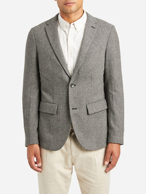 GREY causal blazer for men perry blazer ons clothing