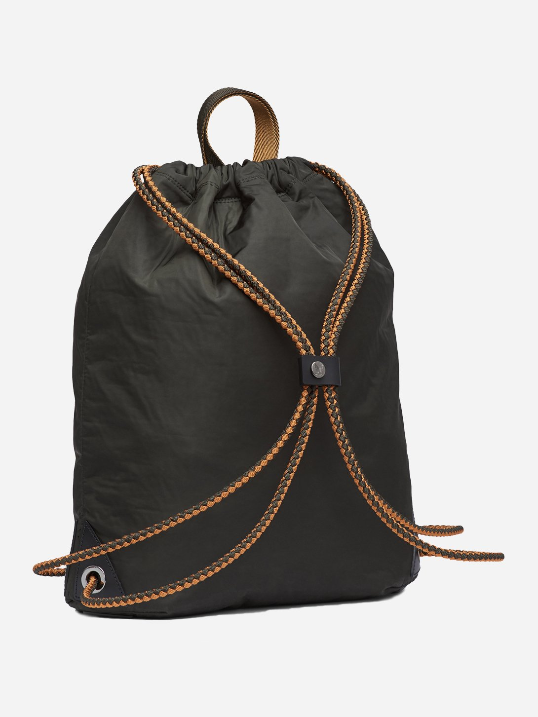 BELUGA men and women unisex black sack nylon bag m/s drawstring mismo