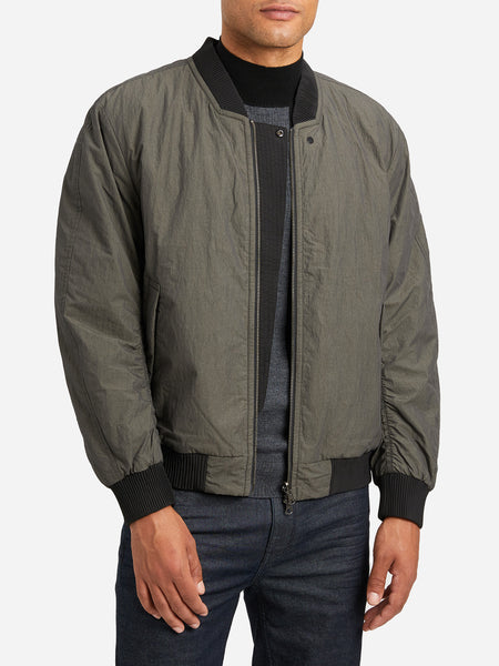 OLIVE GREEN bomber jacket mens jacket reversible bax bomber ons clothing
