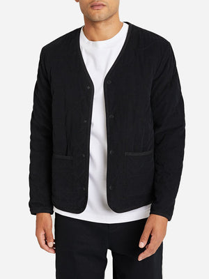 JET BLACK jacket for men crescent jacket ONS clothing