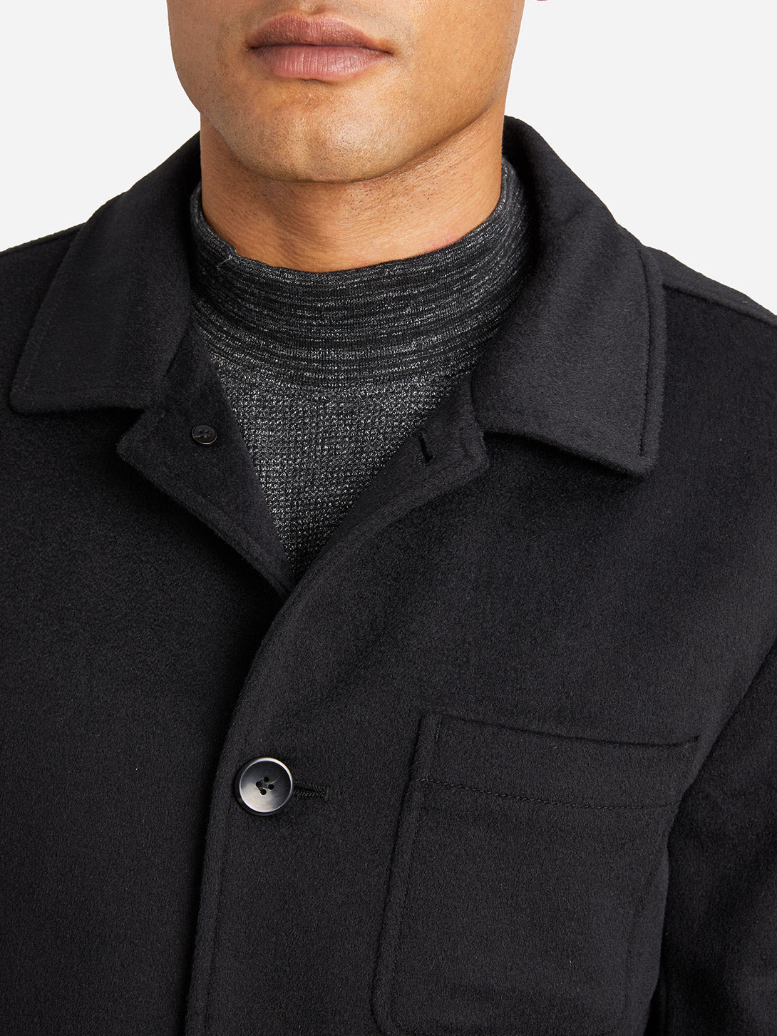 JET BLACK jackets for men damen chore coat ons clothing