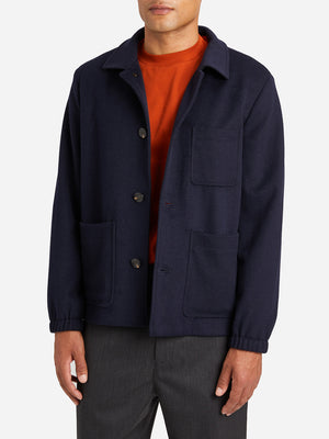 NAVY jackets for men damen chore coat blue ons clothing