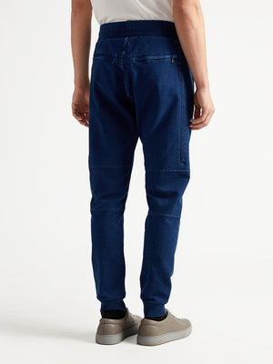ons garage men's joggers indigo