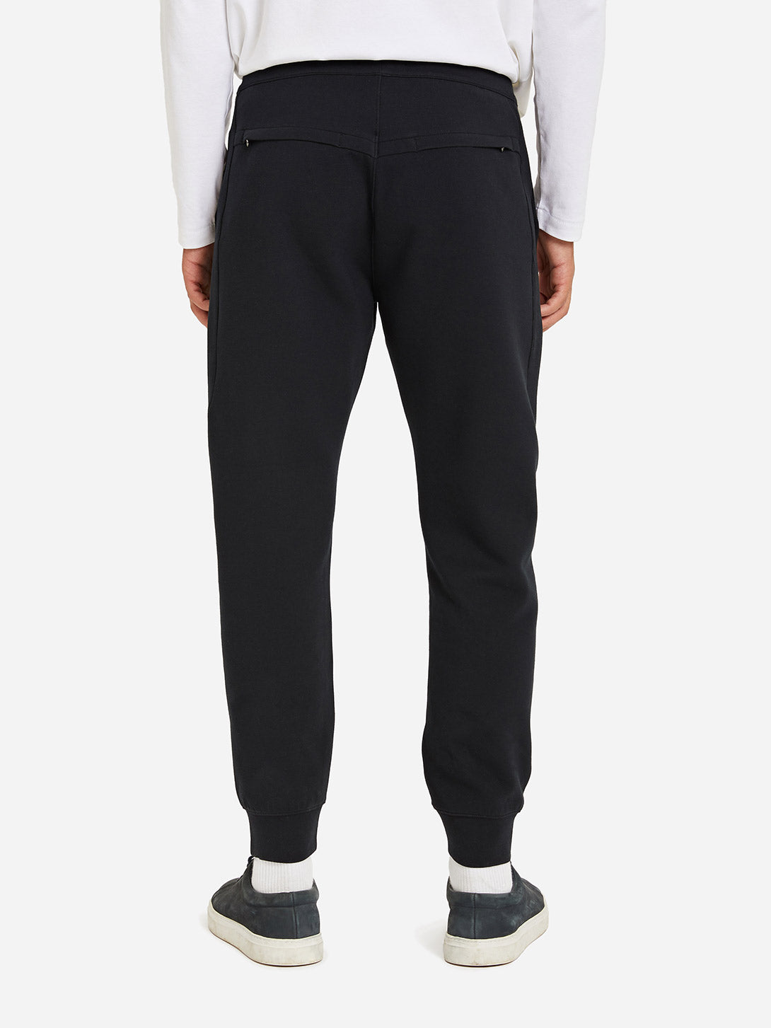 JET BLACK jogger sweatpants for men apollo sweatpants by ons clothing