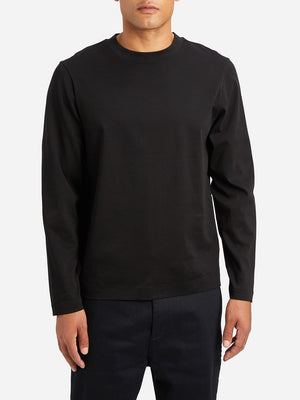 JET BLACK long sleeve tee mascot tee black ons clothing