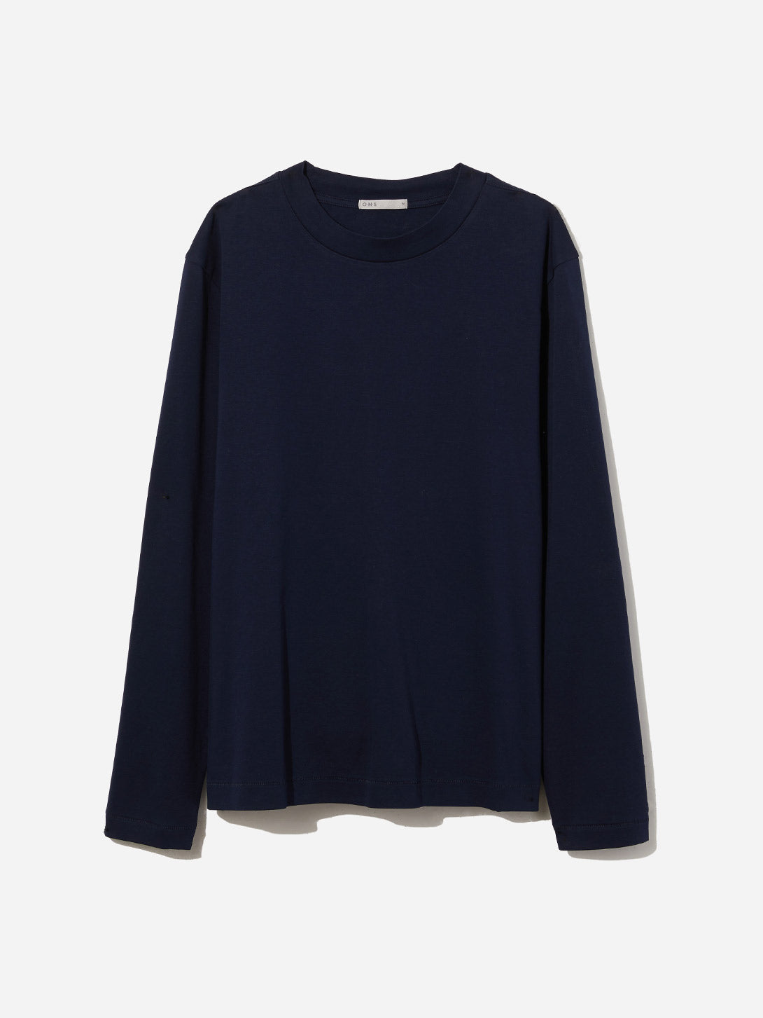 NAVY long sleeve tee mascot tee navy ons clothing
