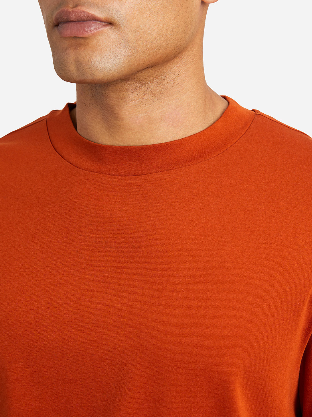 ORANGE long sleeve tee mascot tee orange ons clothing