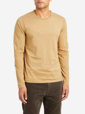 CAMEL long sleeve t shirt village crew neck long sleeve tee indigo camel