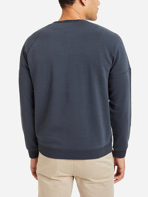 CHARCOAL GREY crew neck sweater for men deon crew by ons clothing