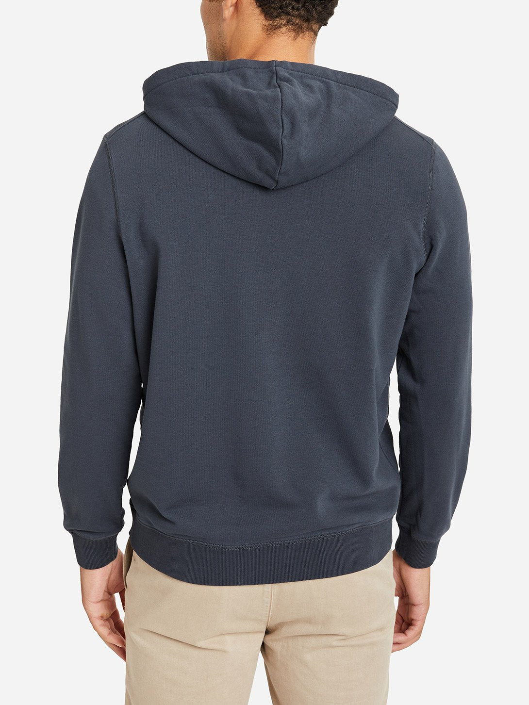CHARCOAL GREY zip up hoodie for men by ons clothing