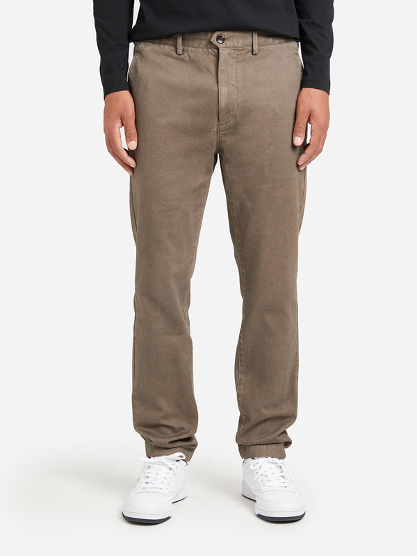 BROWN mens chino pants rider chino ons clothing