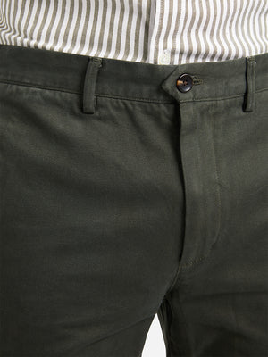 DARK OLIVE GREEN mens chino pants rider chino green ons clothing