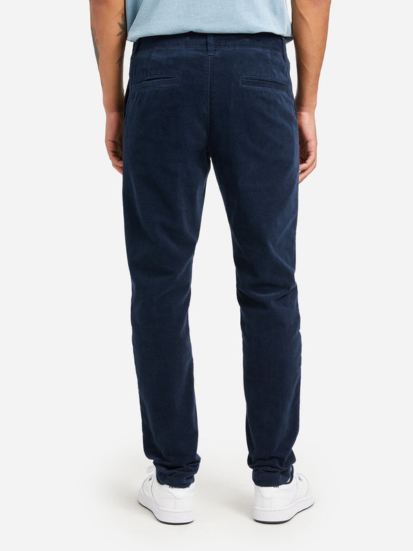 MID BLUE mens chino pants modern chino ons clothing