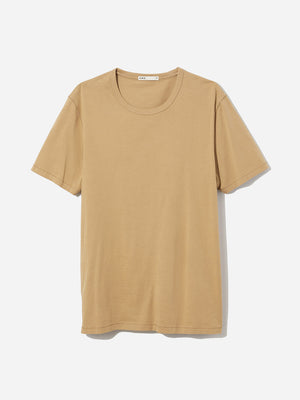 CAMEL short sleeve crew neck t shirt village crew neck t shirt camel