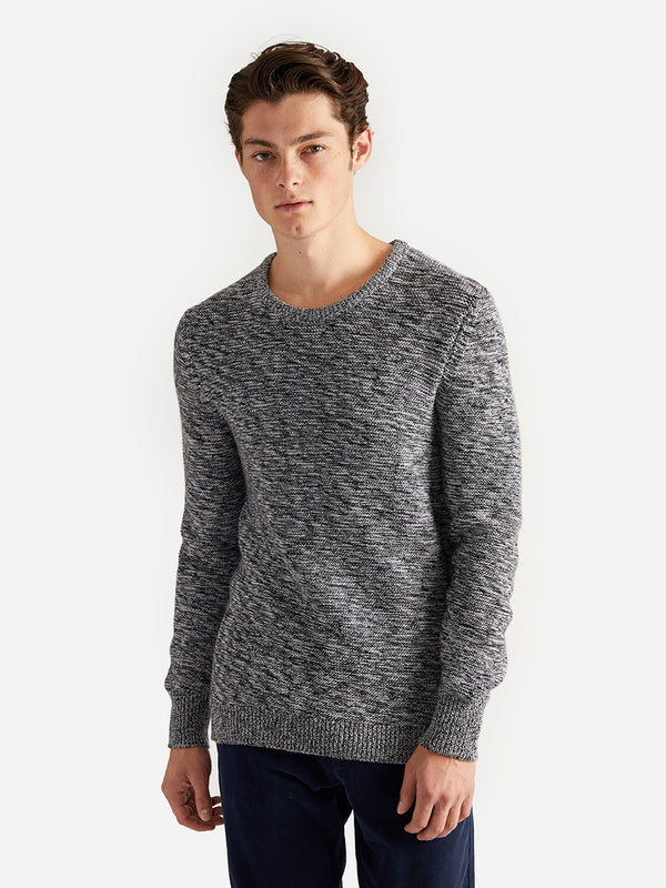ons garage men's sweater GREY HEATHER