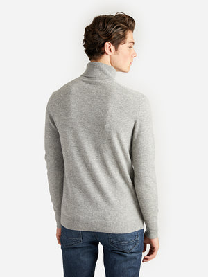 ons garage men's sweater lt-grey