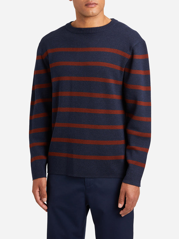 NAVY mens sweater chapman sweater navy
