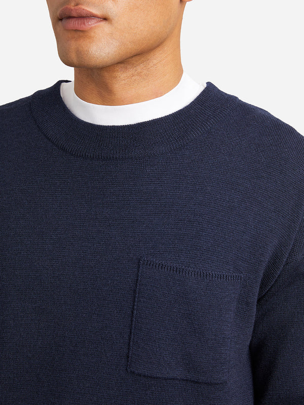 NAVY sweaters for men vincent pocket sweater ons clothing