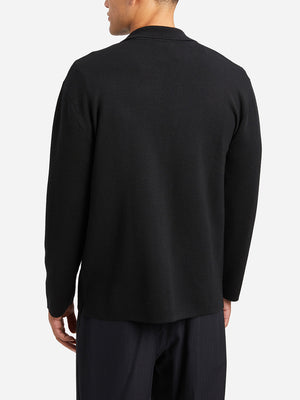 JET BLACK sweaters for men cole cardigan ons clothing