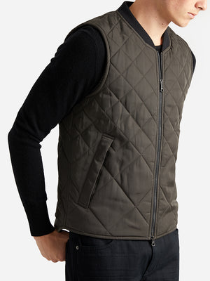 ons garage men's vest OLIVE
