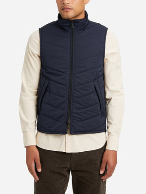 NAVY vests for men vertex vest ons clothing