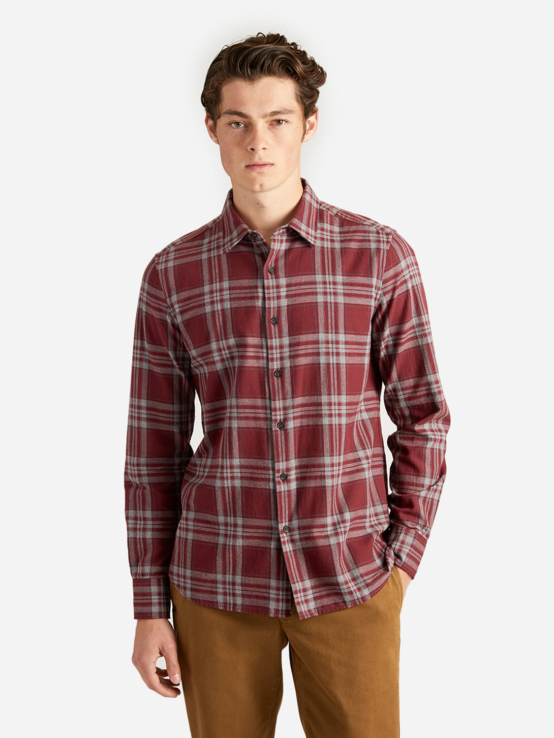 ons garage men's shirt vino