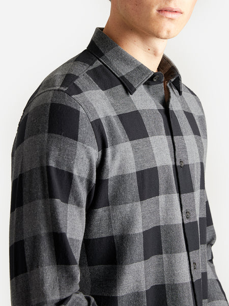 ons garage men's shirt BLACK