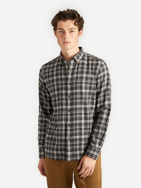 ons garage men's shirt OLIVE