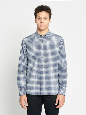 ons garage men's shirt navy
